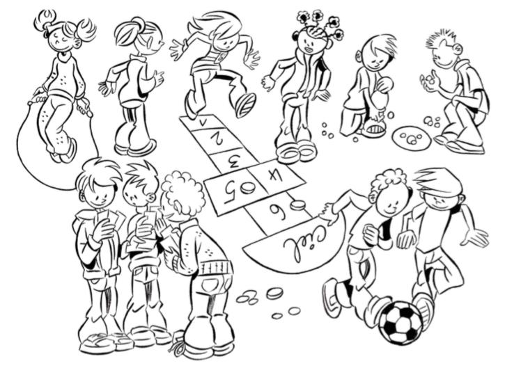 L'APE achète des jeux de récréation pour les enfants